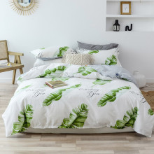 Yimeis Bedding Set Cotton Tropical Style Bedding Set Double Queen Bed Comforter Set BE45327(China)