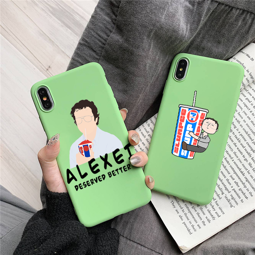 Alexei Deserved Better Candy Color TPU Case phone For iphoneX 7 8 XS XR XSMAX Yellow purple Green case Cover