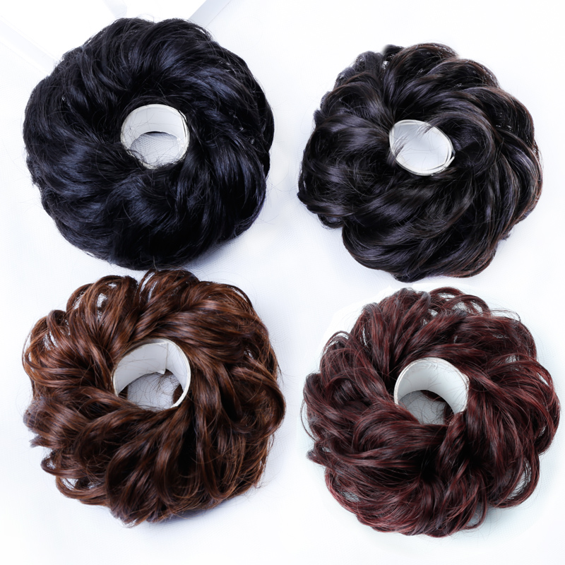 Allaosify-Synthetic-Hair-Chignons-Elastic-Scrunchie-Hair-Extensions-Ribbon-Ponytail-Hair-Clip-Bundles-Hairpieces-Donut-Buns (5)