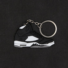 Pendant Sneakers Keychain-Key Key-Ring Basketball-Shoes Mini Men for And Women Colourful