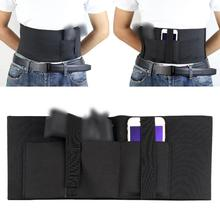 Elastic-Belt Holster Pistol Concealed-Carry Tactical Hunting-Pouch Gun-Waist for Outdoor
