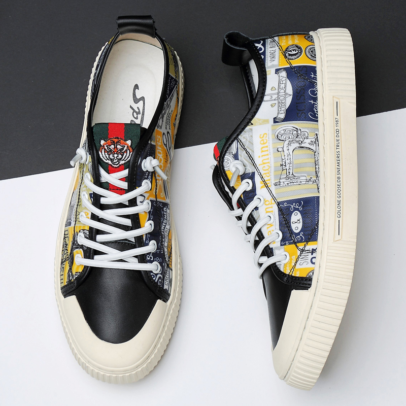 Shoes Sneakers Classic Men's Fashion Printed Explosion 38-45-Size title=
