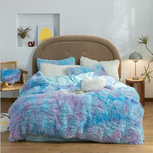 Duvet-Cover Bedding Throw-Blanket Fleece Comfortable Winter Super-Warm Soft Coral And