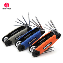 Hexagonal Wrench Screwdriver Spanner Portable-Set Chrome Vanadium Folding Steel Plum