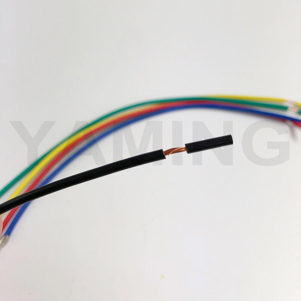 5X IP65 3Pin 18AWG LED étanche Fil Connecteurs de Câble Interrupteur Connector