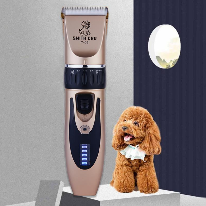 Dog - Professional Pet Grooming Clippers Deluxe Dog Grooming Set Cordless Electric Dog Cat Grooming Trimming-Kit