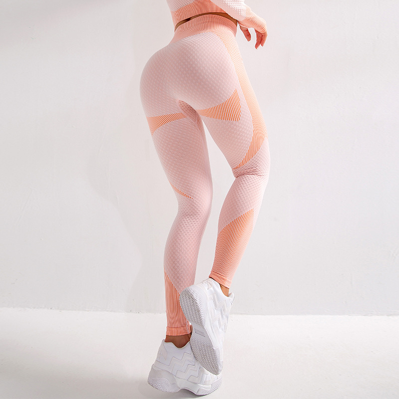 Women Yoga Sports Pants Stretchy Fitness Leggings