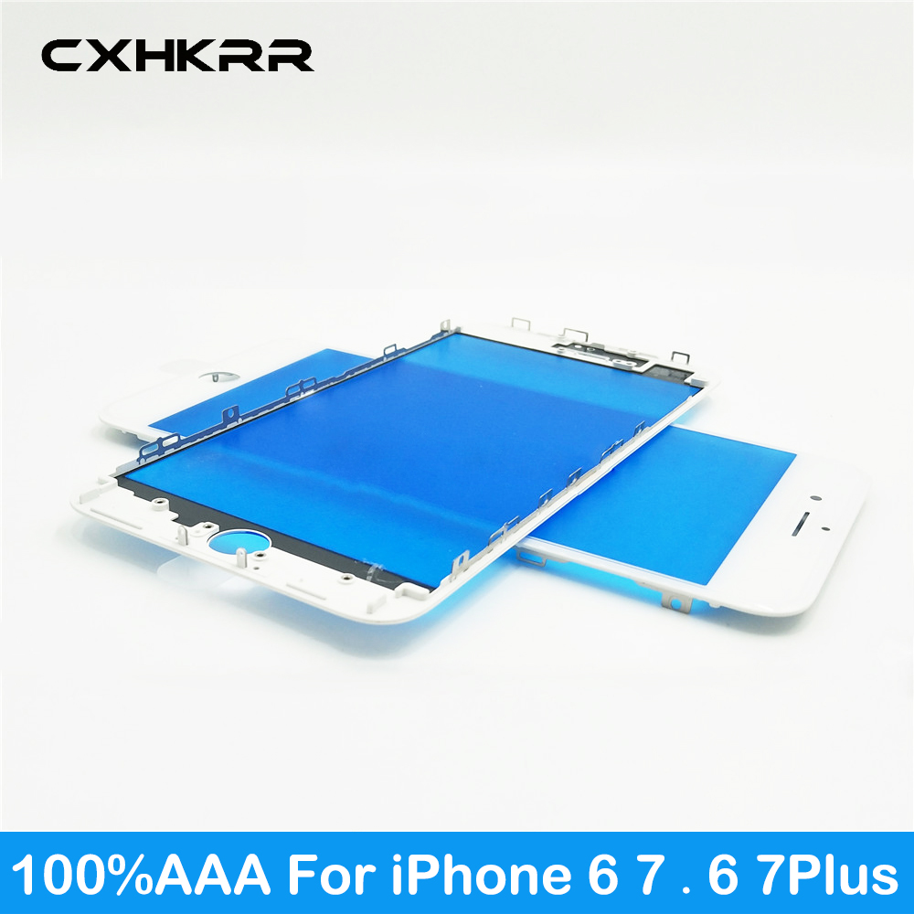 Touch-Panel-Replacement Repair-Parts iPhone Front 6-Plus Glass-Lens Frame Outer-Screen title=