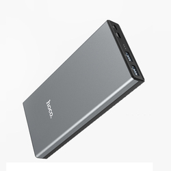 HOCO 30000mAh Power bank 18W USB Type C External Batteries QC3.0 PD Two-way Fast Charging Powerbank LED Display Mobile Charger