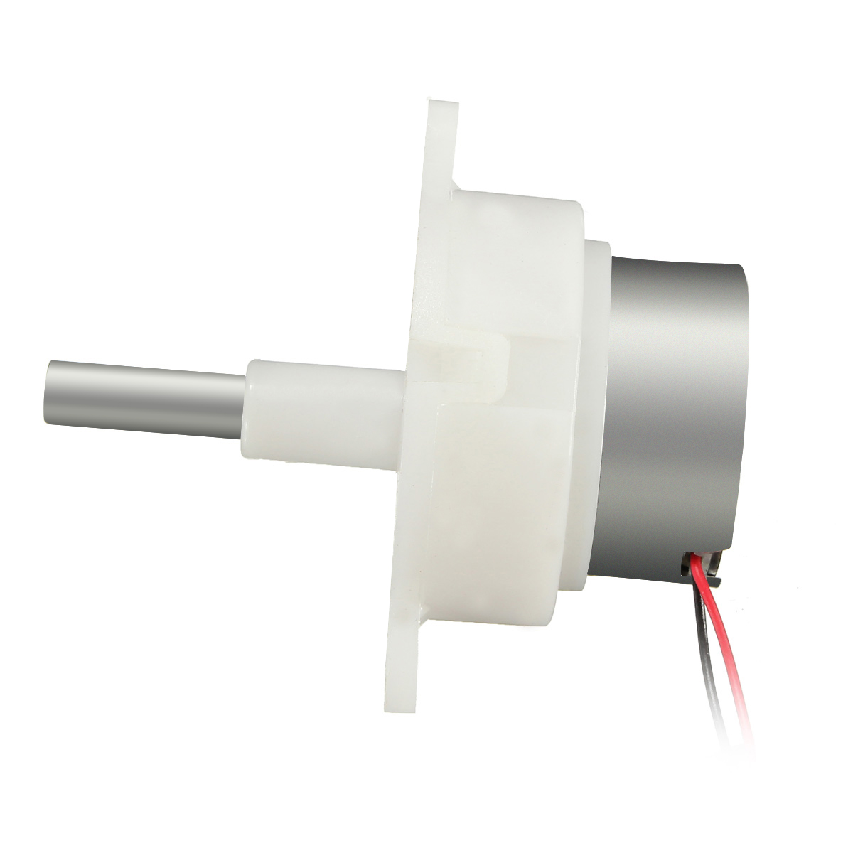 2pcs DC 6v 12v Worm Gear Motor long shaft Slow speed gearmotor 8-16RPM