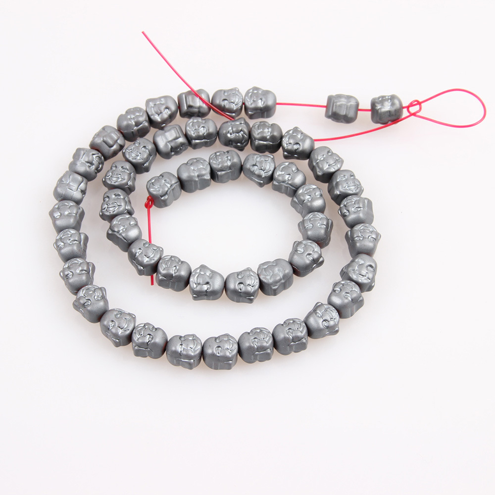 2x6 MM Rondel Black Magnetic Hematite Stone Craft Jewelry Making Beads 16 inch