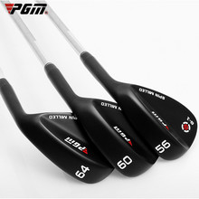 Golf Wedges Club Golf-Clubs-Sand-Bar PGM 50-64-Degree Face CNC Rod Groove Cut Stainless-Steel