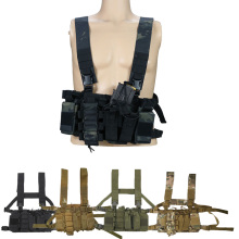 Molle Vest Magazine Chest-Rig-Bag Multicam Paintball Radio-Ak Airsoft Ammo Mag-Pouch