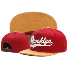 Red Snapback Fastball-Cap BROOKLYN Bone Adult Women Brand Casual TUNICA for Outdoor Hat