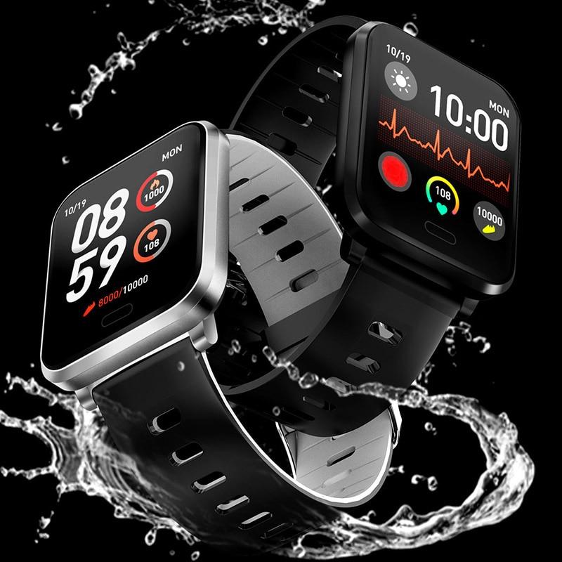 Smart Watch IP68 Waterproof Men Women Heart Rate Monitor <fo