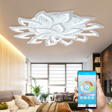 Led Chandelier Bedroom Living-Room Modern New Ce for by Sala