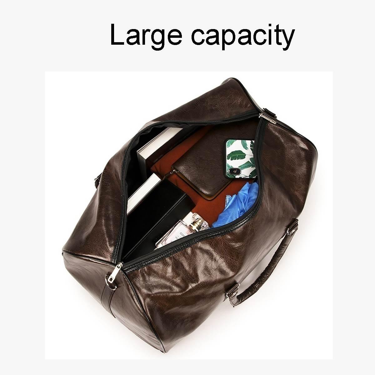 Travel Luggage Duffle Bag Lightweight Portable Handbag Fantasy Lake Print Large Capacity Waterproof Foldable Storage Tote