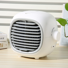 Fan Car-Air-Cooler Portable for Home Office Water-Cooling-Fan Desktop USB Mini