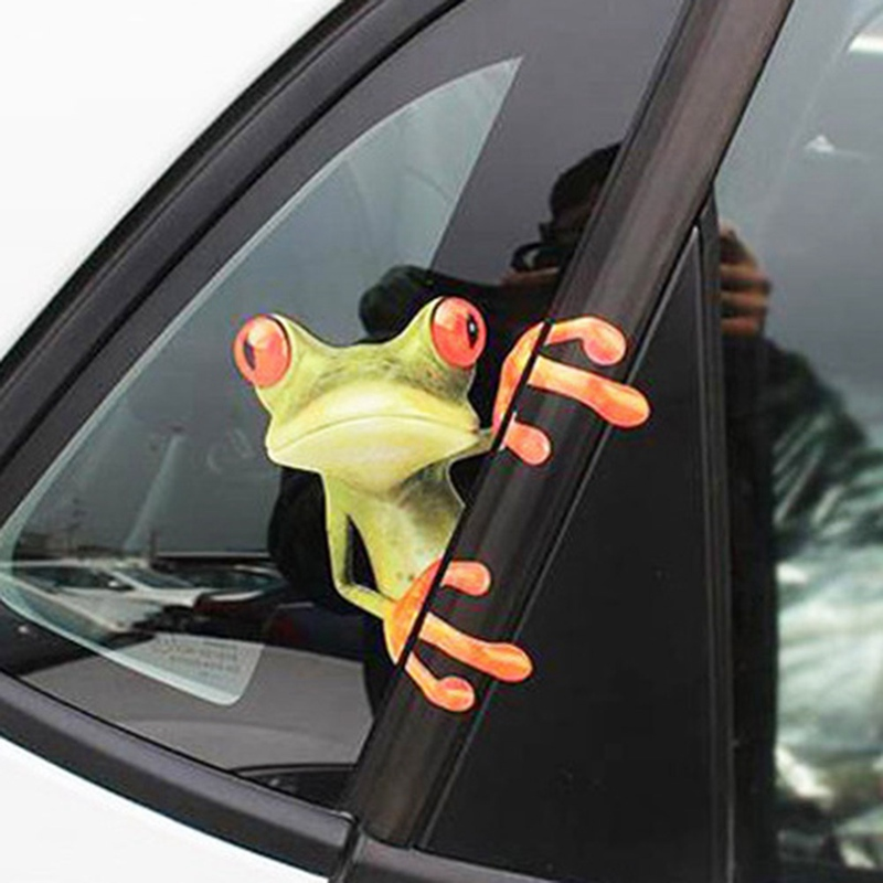 Cute 3D Stereo Animal Car Sticker Car Laptop Luggage Bike Decal Toy Sticker Car styling Window Decal Kids Room Wall Sticker