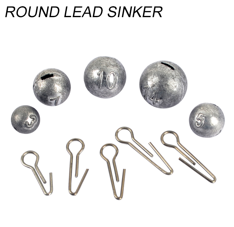 lead weights 100pcs.1//2oz fishing cannon ball sinkers