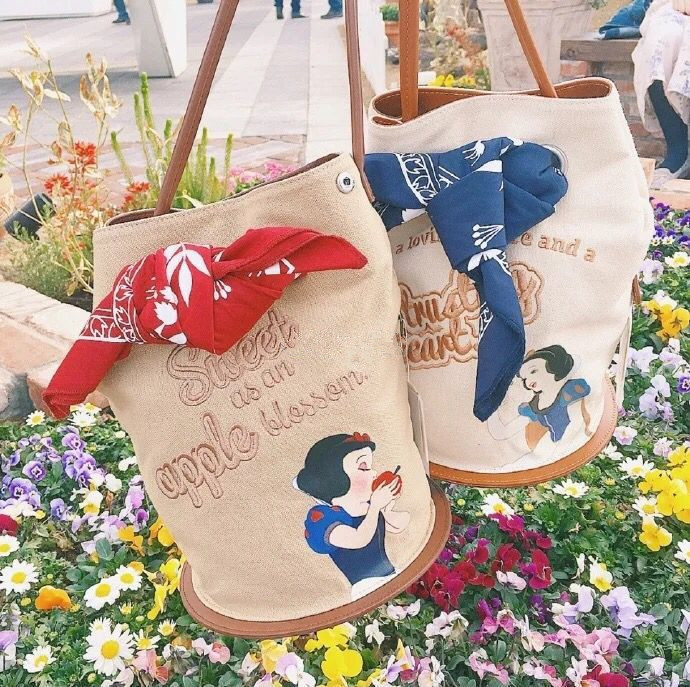 New Princess Bow Tie Cartoon  Shoulder HandBags Fashion Korean Lolita Cute Kawayi Girls Bags Students Gifts Bag X/'max Presents