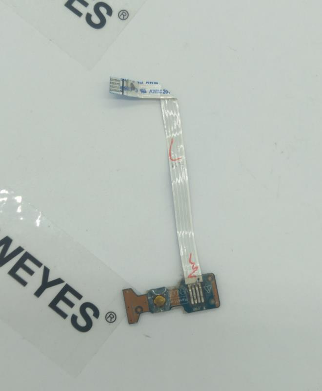 Toshiba Satellite C660 C665 C665 C665D Power Button Board Cable LS-6841P