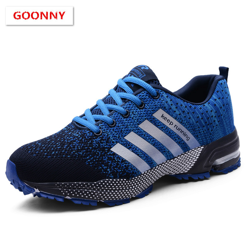 Sneakers Cushion Sports-Shoes Flats-Training Outdoor Breathable Women Lightweight  title=