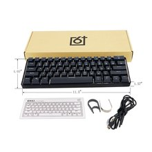 Keyboard Gaming Gamer Customized-Kit Mechanical-Feeling GK61 Swappable 60-% Pcb-Mounting-Plate-Case