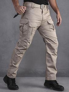 Hiking Pants Camouflage-Pants Camo-Trousers Slight Waterproof Ripstop Men Army XZ