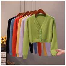 Sweater Coat Cardigan-Top Clothing Loose Autumn Women's Open-Stitch ITOOLIN