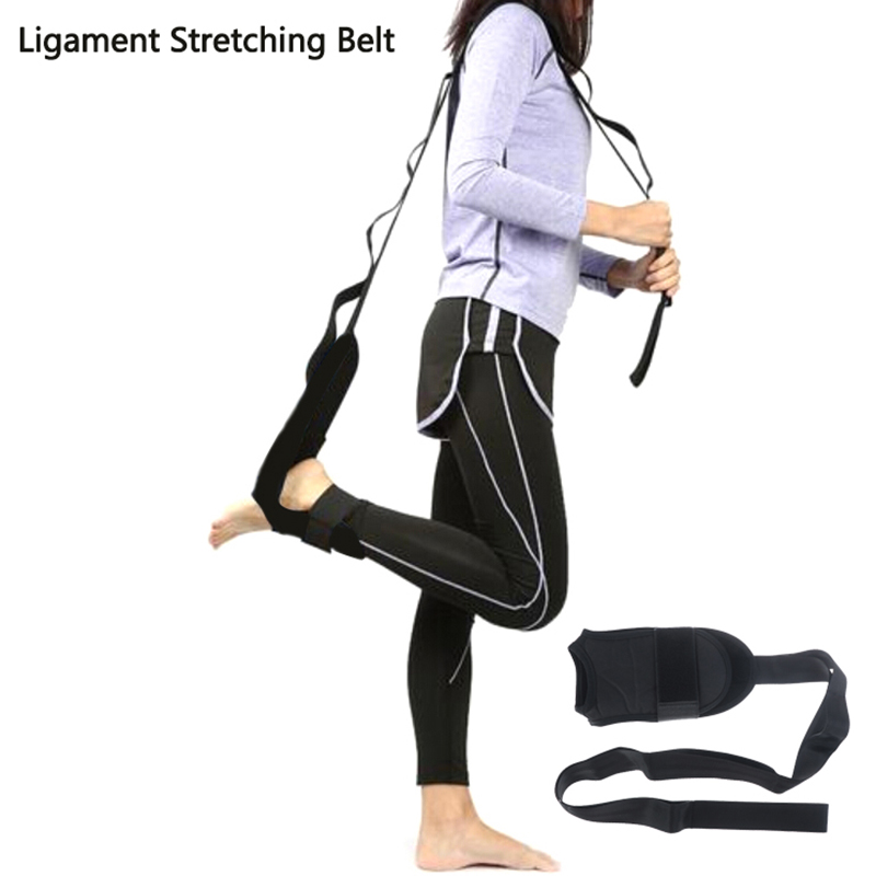 Yoga Ligament Stretching Belt Foot Drop Stroke Hemiplegia Rehabilitation Strap Leg Training Foot Ankle Joint Correction Braces