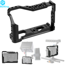 Camera-Cage Stabilizer DSLR W/double-Hot-Shoe-Adapter Aluminum for Xt2/x-T2 Photography