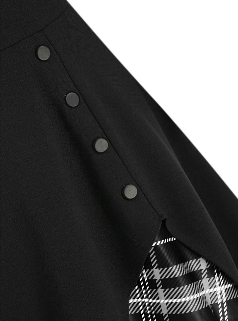 9269black with black plaid (4)
