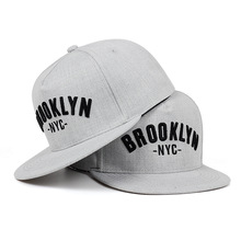 Snapback-Cap Baseball-Caps Leisure-Hats BROOKLYN Embroidered Outdoor-Sport Fashion Letter