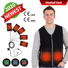 Men's Heating Jacket Fleece Vest Woman Electric Usb Jacket Hunting Fever Vest 2020 2020