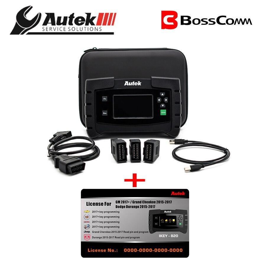 Original AUTEK IKEY820 Key fob Programmer OBD2 cord//Main Cable Auto OBD2 Cable