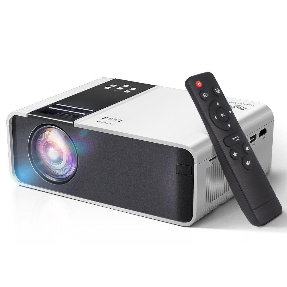 ThundeaL Мини-проектор TD90 HD 1280 x 720P пикселей LED Android Wi-Fi проектор для дома 3D HDMI кинопроектор
