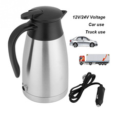Electric-Heating-Kettle Water-Heater Teapot Automobile Portable 1000ml 12V for Car 12V/24V