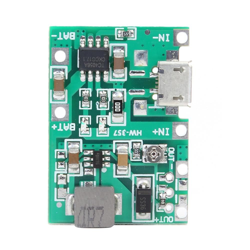Charger-Module Power-Bank Li-Ion-Battery Step-Up Adjustable HW-357 18650 9V 5V DIY PCB title=