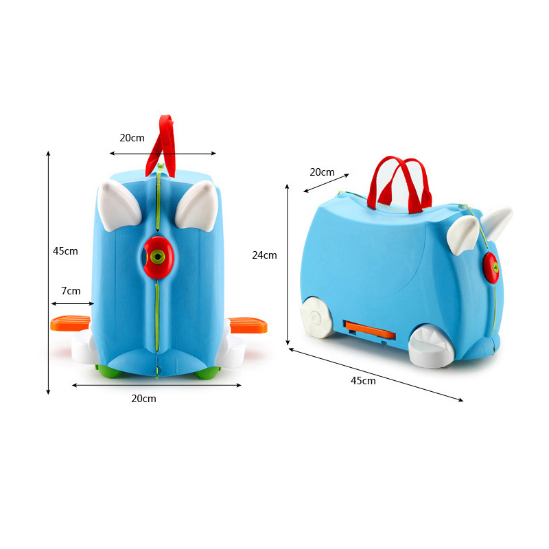 Fashion suitcase baby stroller suitcase multifunctional stroller suitcase can sit and ride baby check box children boarding case