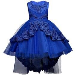 Платье летнее детское праздничное, на возраст до 14 лет