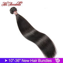 Weave Bundles Human-Hair 36inch Remy Ali Annabelle Deals Straight 30-32 28 34 1-3