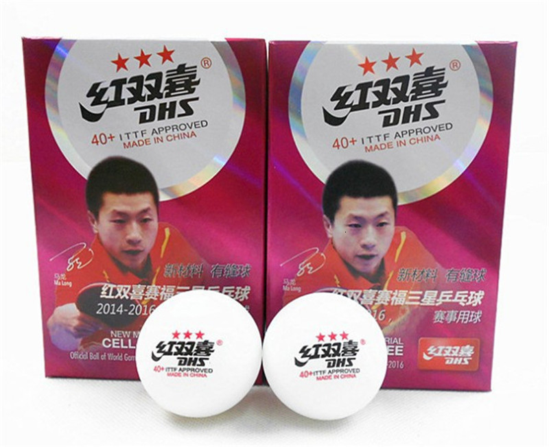 6pcsBox Top Brand Quality New Material Table Tennis Ball with Seam 40+ Acetate Fiber Ping Pong Balls Official Table Tennis Ball (2)