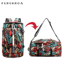 Fitness Backpack Gym-Bag Sports Women Workout-Training-Shoes Outdoor-Shoulder Waterproof