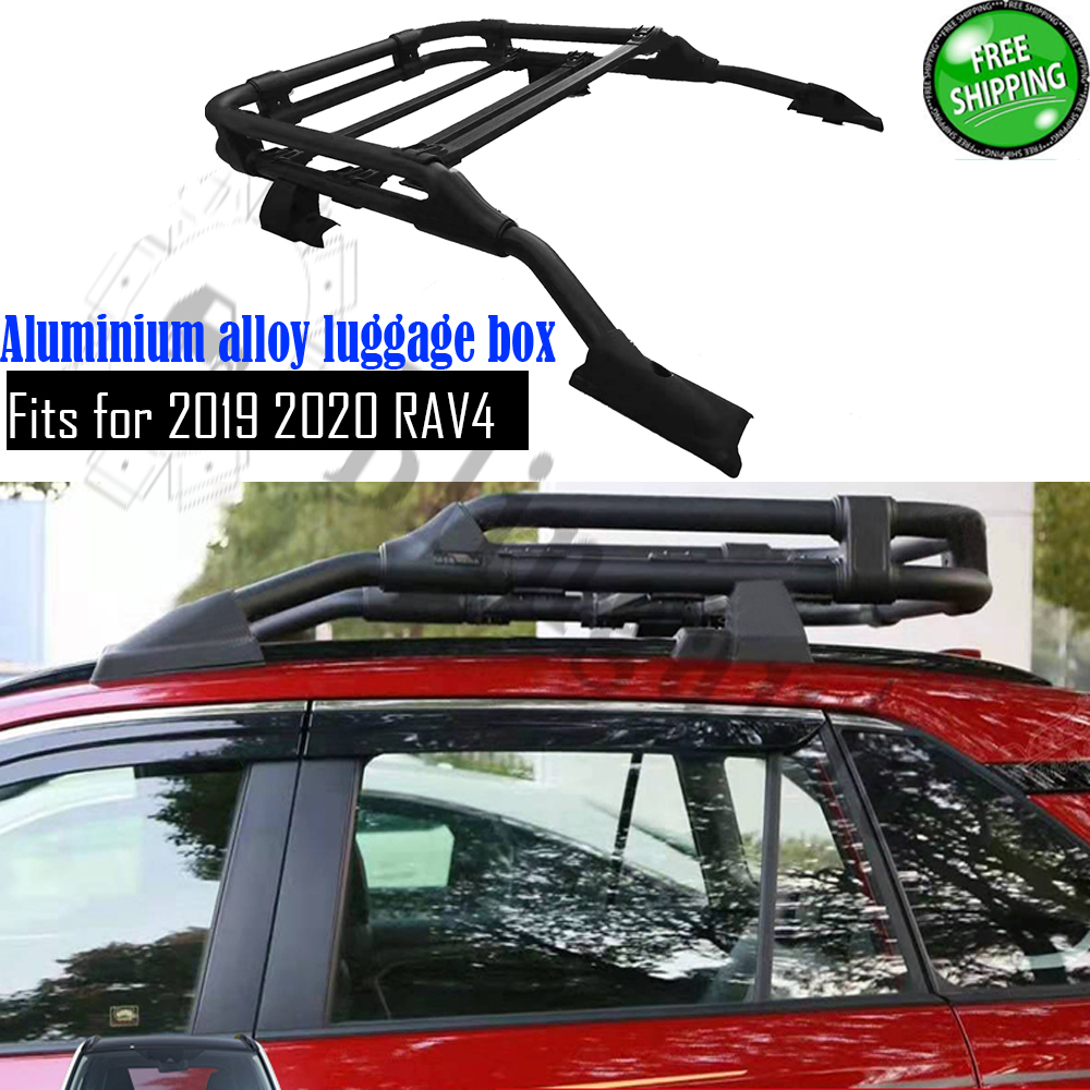 Rav 4 Toyota Landcruiser Prado roof tray platform rack carry box luggage carrier
