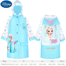 Kids Raincoat Minnie Poncho Impermeable Girl Outdoor Boy Cute Children Gifts Mickey-Mouse