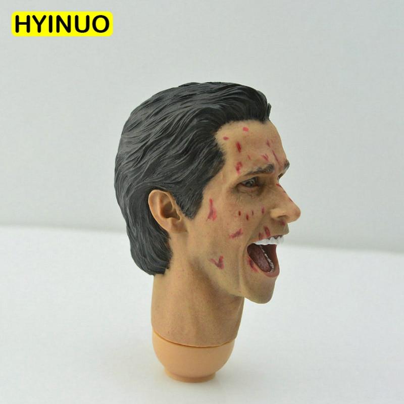 1//6 scale Vikings blank Head Sculpt unpainted strong man