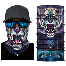 Magic women and men Bandana Scarf Tubular 3D Printed Unisex Locomotive Headband Bandana Bike Hike Camp Run Face Headband Scarf