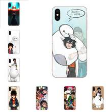 New Arriv Big Hero 6 For Huawei Honor Mate 7 7A 8 9 10 20 V8 V9 V10 G Lite Play Mini Pro P Smart Soft Cover Cases(China)