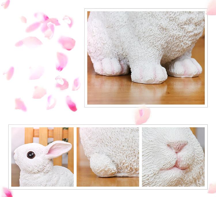 BETESSIN 19 Pz Decorazioni Pasquale Miniature Coniglio con Carota Figurine Coniglietto di Festa Pasqua da Tavolo Topper Torta Regalo Bomboniere Ornamenti da Giardino